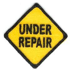 IMG Under Repair Sign
